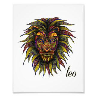 Leo Symbol Photo Print