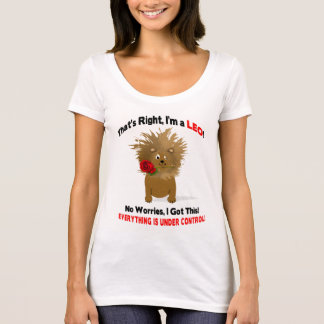 LEO T-SHIRT -  Lion in control - Red Rose