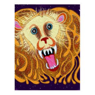 Leo the Golden Lion Postcard