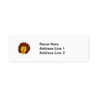 Leo the Lion Return Address Label