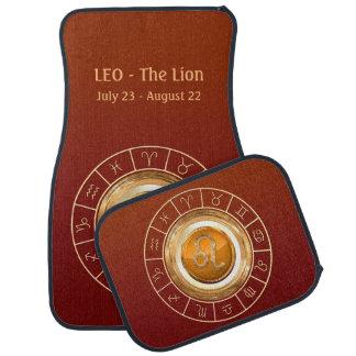 LEO - The Lion Zodiac Sign Car Mat