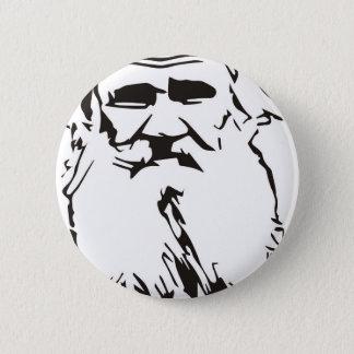 Leo Tolstoy 2 Inch Round Button