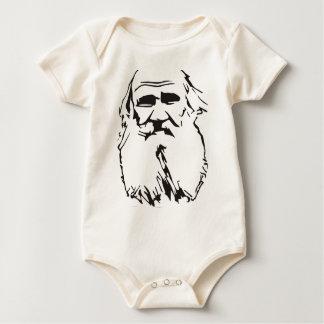 Leo Tolstoy Baby Bodysuit