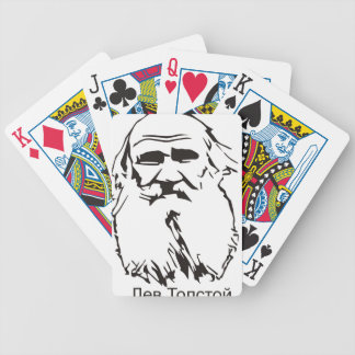 Leo Tolstoy Bicycle Playing Cards