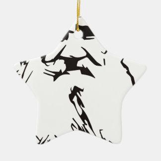 Leo Tolstoy Ceramic Ornament