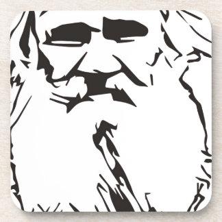 Leo Tolstoy Drink Coaster