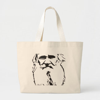 Leo Tolstoy Large Tote Bag
