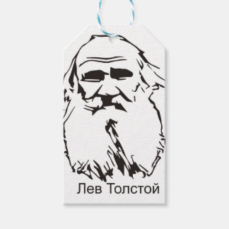 Leo Tolstoy Pack Of Gift Tags