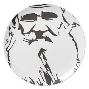 Leo Tolstoy Plate
