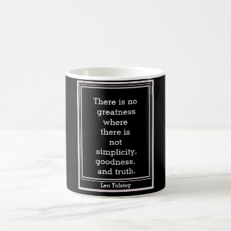 """Leo Tolstoy quote = mug"