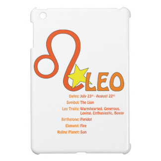 Leo Traits iPad Case