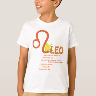Leo Traits Kids T-Shirt