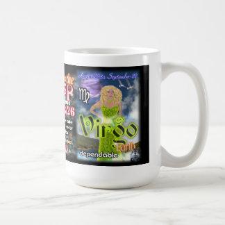 Leo Virgo Cusp, Large 15 Oz  Astrology Mug