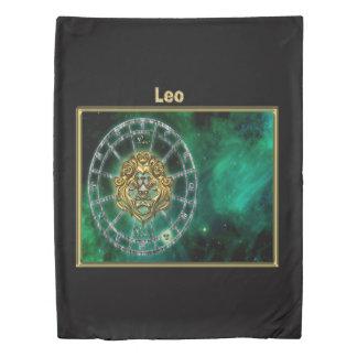 Leo Zodiac Astrology design Duvet Cover
