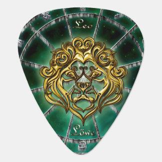 Leo Zodiac Astrology design Guitar Pick