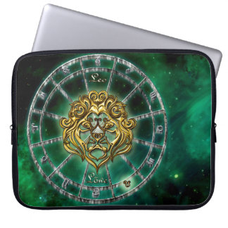 Leo Zodiac Astrology design Laptop Sleeve