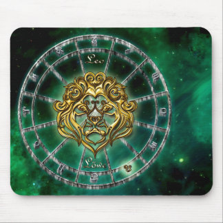 Leo Zodiac Astrology design Mouse Pad