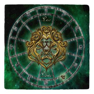 Leo Zodiac Astrology design Trivet