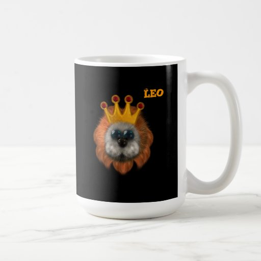 Leo Zodiac Cute Products Mug