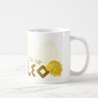 Leo Zodiac design Classic White Coffee Mug