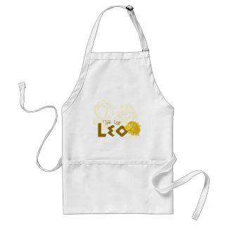 Leo Zodiac design Standard Apron