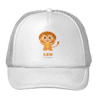 Leo Zodiac for Kids Mesh Hat