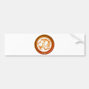 Leo Astrology Bumper Stickers, Car Stickers & Car Decals