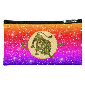 Leo Zodiac Modern Cosmetic Bags