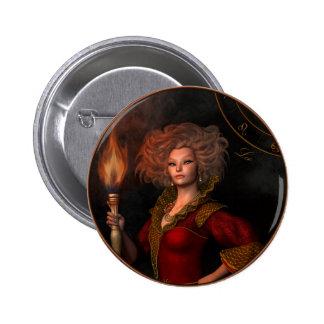 Leo zodiac sign pins
