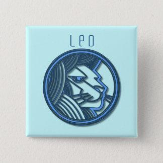 Leo Zodiac Square Pin