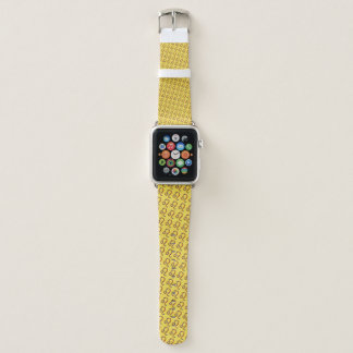 Leo Zodiac Symbol Element by Kenneth Yoncich Apple Watch Band
