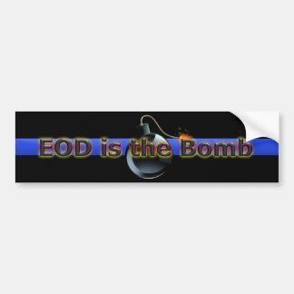 L'EOD est la bombe Autocollant De Voiture