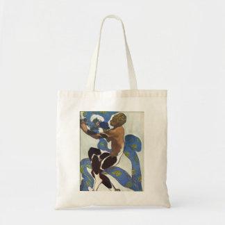 Leon Bakst: Nijinsky's Faun Costume Tote Bag