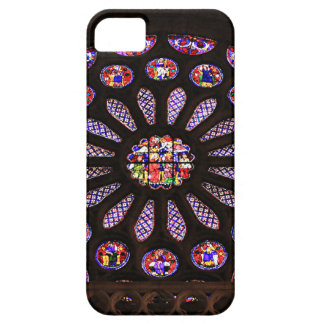 Leon Cathedral window, El Camino, Spain iPhone 5 Covers