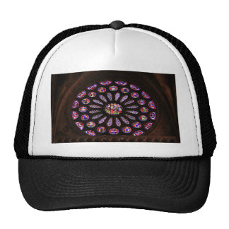 Leon Cathedral window, El Camino, Spain Trucker Hat