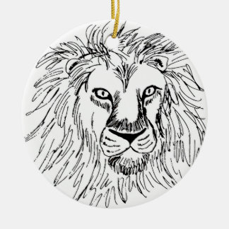 LEON CERAMIC ORNAMENT