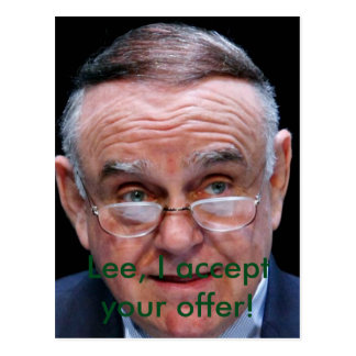 Leon Cooperman Postcard