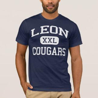 Leon - Cougars - Junior High School - Jewett Texas T-Shirt