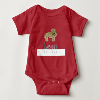 Leon the lion jersey Body for babies Baby Bodysuit