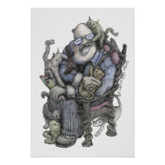 Leonard Oberlender-Color - Poster