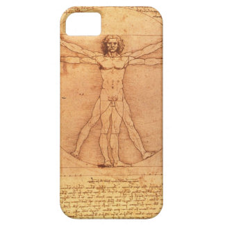 Leonardo Da Vinci Anatomy Study of human body iPhone 5 Covers