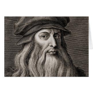 Leonardo da Vinci Card