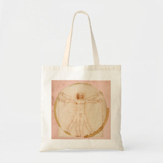 Leonardo Da Vinci-Coffee Man Tote Bag