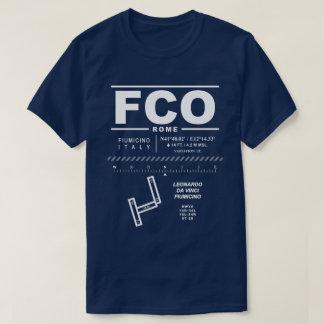 Leonardo da Vinci - Fiumicino Airport FCO T-Shirt