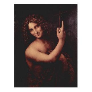 Leonardo da Vinci Hl. Johannes der T?ufer 1513-151 Postcard