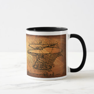 Leonardo da Vinci Inventions Mug