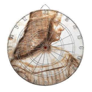 Leonardo da Vinci - Isabella D'este Painting Dartboard