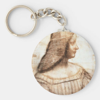 Leonardo da Vinci - Isabella D'este Painting Keychain