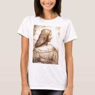Leonardo da Vinci - Isabella D'este Painting T-Shirt