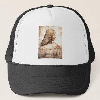 Leonardo da Vinci - Isabella D'este Painting Trucker Hat
